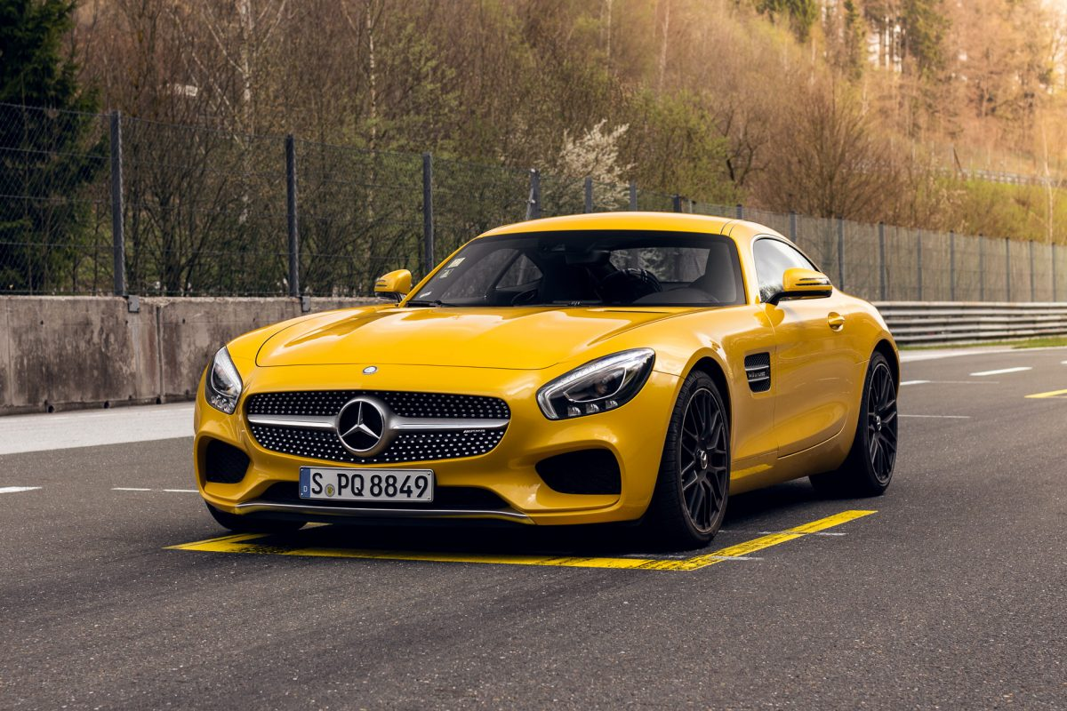 Solarbeam Mercedes-AMG GT-S in Solarbeam